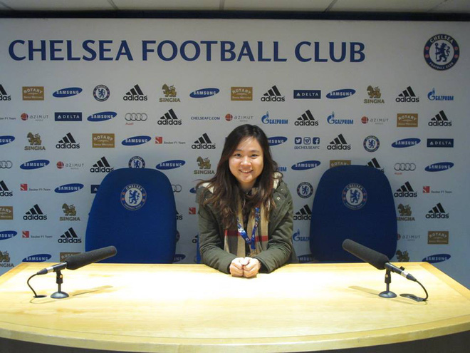 Fan nữ xinh đẹp của Chelsea dành cả thanh xuân thăm 14 SVĐ nổi tiếng nhất thế giới - Ảnh 19.