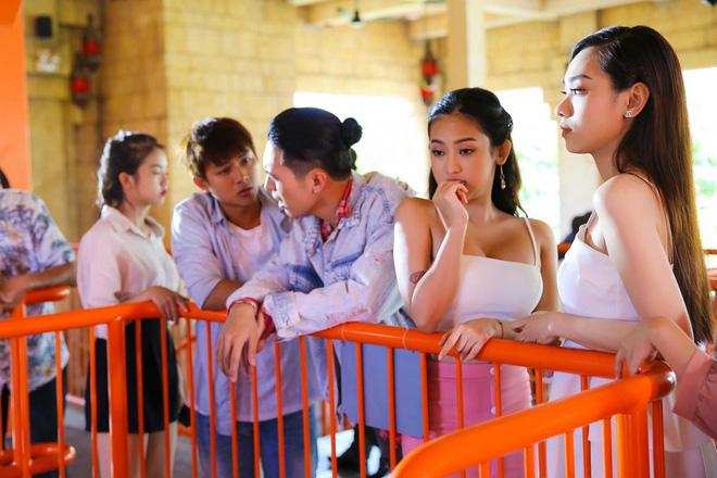 Lên mặt thách thức Midu và sự thật vai diễn của hot girl Thúy Vi trong Yêu em bất chấp - Ảnh 1.