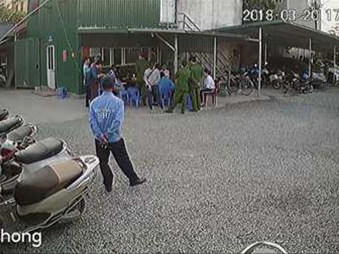 Triệu tập 8 bảo vệ liên quan vụ dọa giết Phó trưởng Công an quận - Ảnh 1.