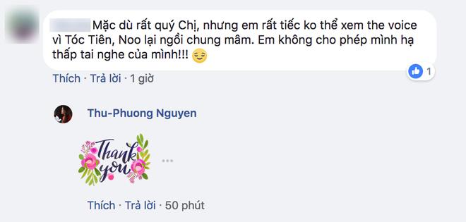 """Dân mạng chê bai 2 HLV """"The Voice"""" Noo Phước Thịnh và Tóc Tiên, tài khoản của Thu Phương gửi lời cảm ơn? - Ảnh 2."""