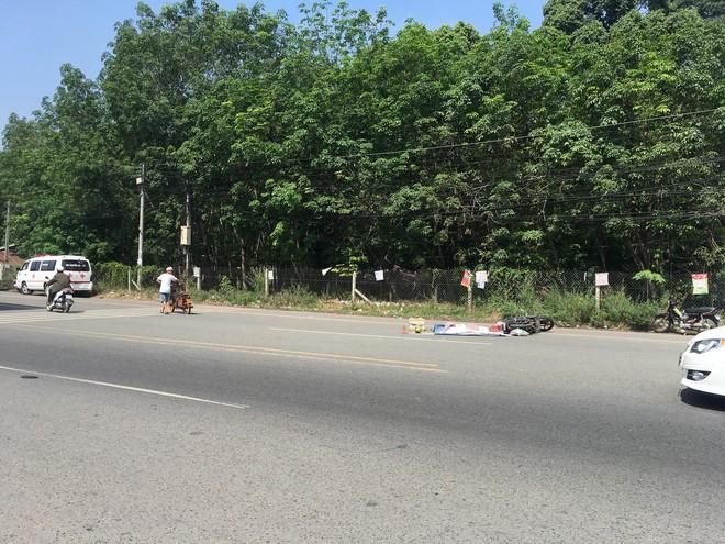 Truy tìm xe container cán chết người đàn ông Trung Quốc rồi bỏ trốn - Ảnh 3.