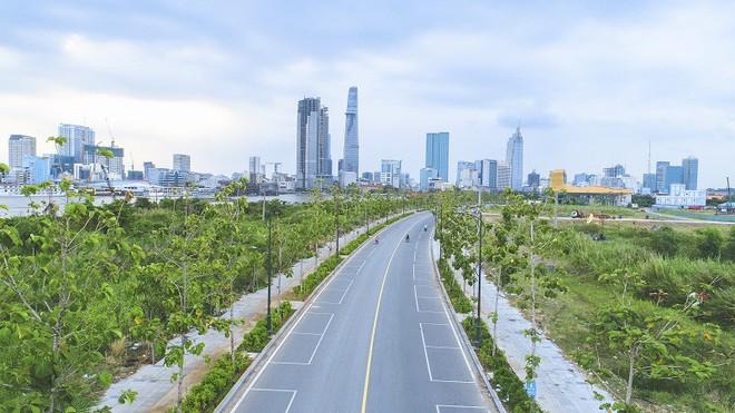 Cận cảnh con đường dát kim cương với chi phí 1.000 tỷ đồng/km ở Khu đô thị mới Thủ Thiêm - Ảnh 13.