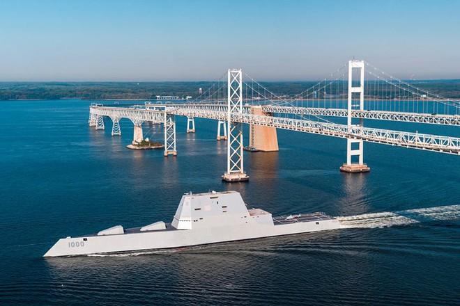 Khám phá USS Zumwalt - tàu khu trục lớn nhất của Hải quân Mỹ - Ảnh 3.