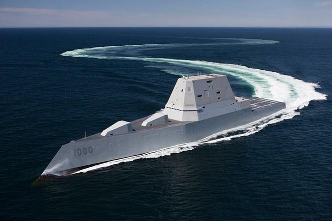 Khám phá USS Zumwalt - tàu khu trục lớn nhất của Hải quân Mỹ - Ảnh 5.