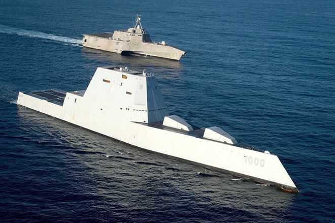 Khám phá USS Zumwalt - tàu khu trục lớn nhất của Hải quân Mỹ - Ảnh 6.