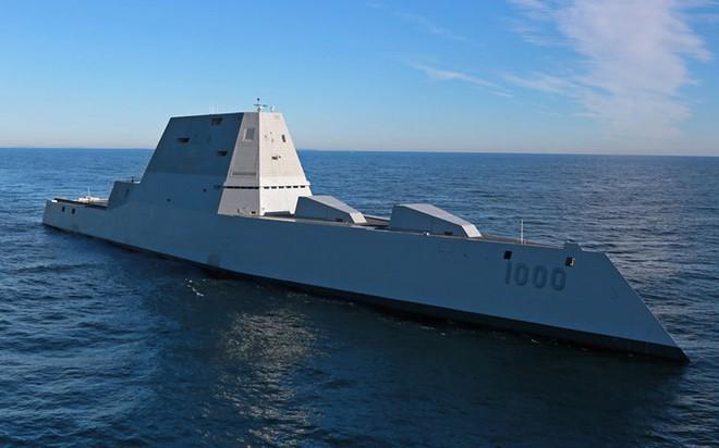 Khám phá USS Zumwalt - tàu khu trục lớn nhất của Hải quân Mỹ - Ảnh 8.