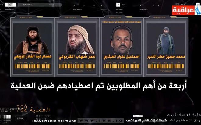 """Tình báo Iraq vừa có """"cú lừa ngoạn mục"""", tóm sống 5 trùm khủng bố IS khét tiếng"""