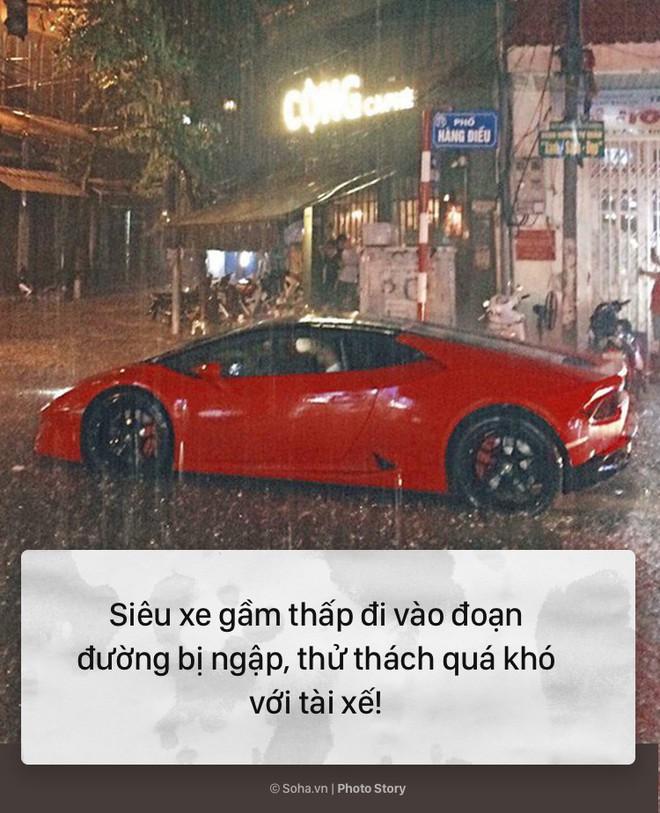 [PHOTO STORY] 10 hình ảnh ấn tượng nhất tại Hà Nội trong cơn mưa lớn tối 12/5 - Ảnh 4.