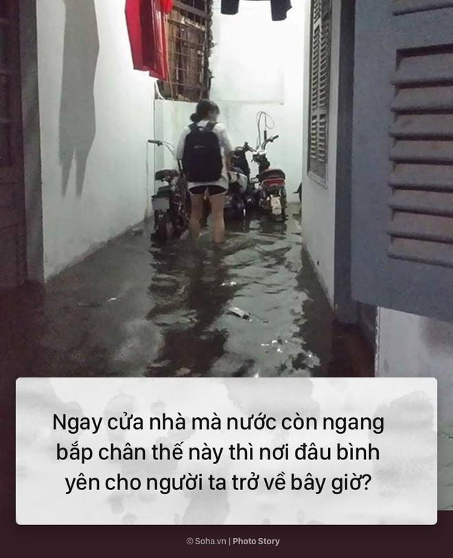 [PHOTO STORY] 10 hình ảnh ấn tượng nhất tại Hà Nội trong cơn mưa lớn tối 12/5 - Ảnh 5.