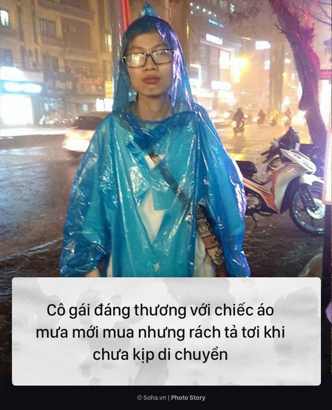 [PHOTO STORY] 10 hình ảnh ấn tượng nhất tại Hà Nội trong cơn mưa lớn tối 12/5 - Ảnh 7.