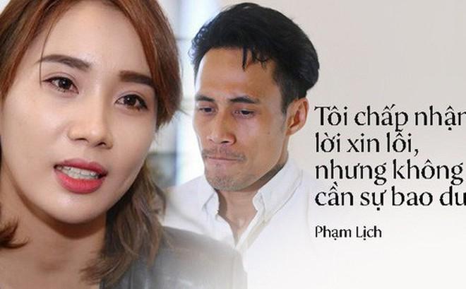 Phạm Lịch nói gì sau lời xin lỗi chính thức của Phạm Anh Khoa chiều nay?