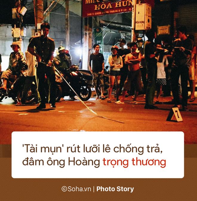 [PHOTO STORY] 13 giây gây án của tên cướp Tài mụn khi bị các hiệp sĩ vây ráp - Ảnh 9.