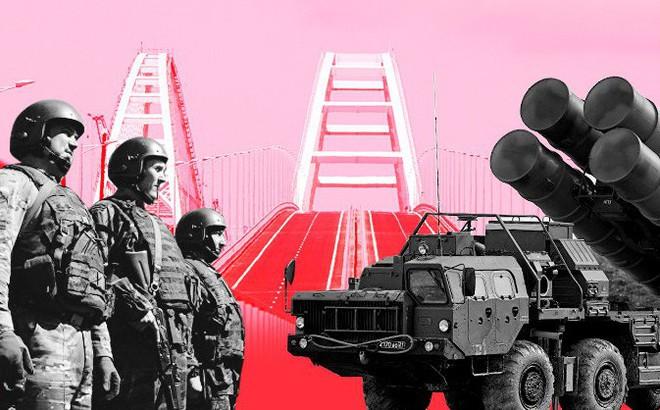 """""""Dằn mặt"""" Ukraine, Moskva đã phòng thủ cây cầu nối liền Nga - Crimea như thế nào?"""