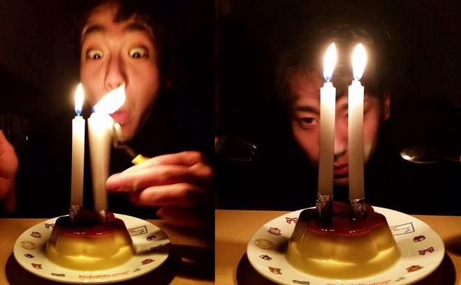 Biểu cảm lần đầu được thổi nến của chàng trai khiến cô gái lạ nhận tổ chức sinh nhật cả đời