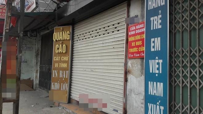 Tấm biển thông báo treo chiếc cửa hàng trên phố Hà Nội khiến dân mạng xôn xao - Ảnh 2.