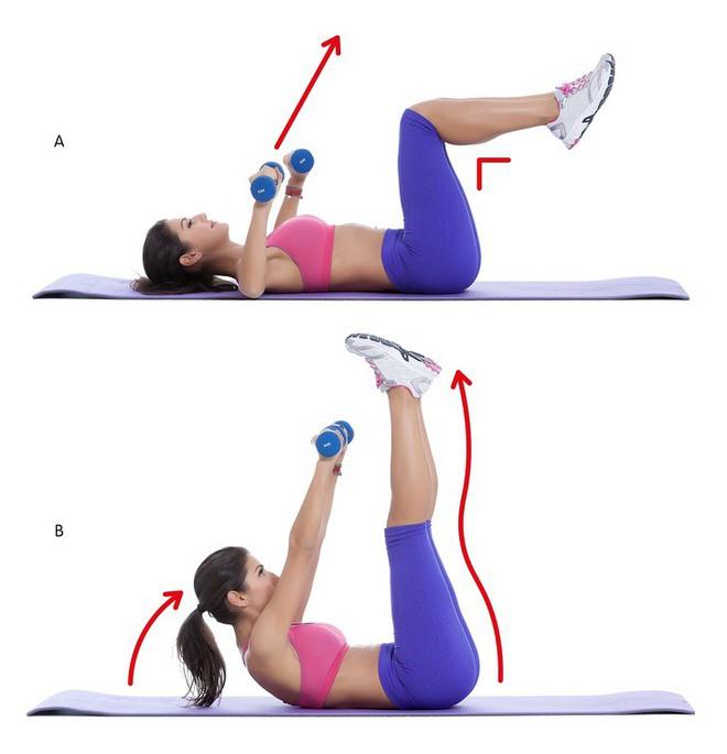 10 động tác giúp loại bỏ mỡ thừa vùng lưng và nách hiệu quả: Chị em nên tập để tự tin hơn - Ảnh 3.