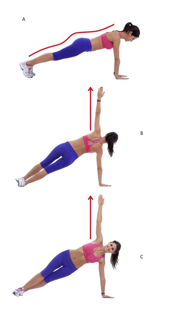 10 động tác giúp loại bỏ mỡ thừa vùng lưng và nách hiệu quả: Chị em nên tập để tự tin hơn - Ảnh 8.