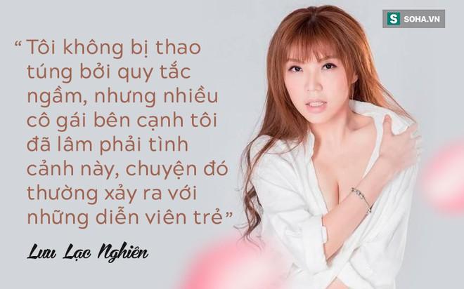 Biểu tượng sexy Đài Loan 8 lần bị gạ tình trả lời độc quyền Báo VN: Tiết lộ quy tắc ngầm đáng sợ của showbiz Hoa ngữ - Ảnh 4.