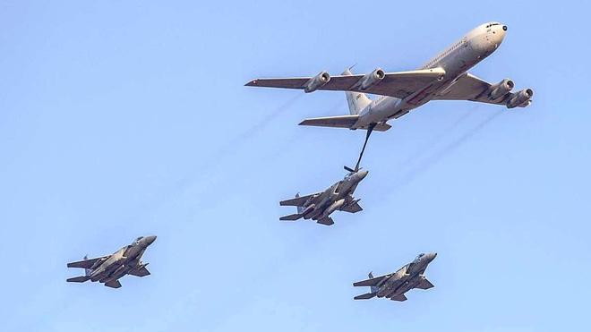 Vụ tập kích 29/4: F-15 Israel giả dạng tiêm kích Mỹ, khiến PK Nga-Syria không dám ho he? - Ảnh 3.