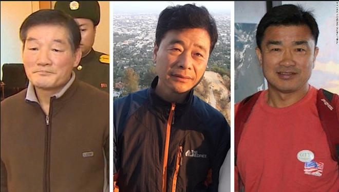 Triều Tiên trả tự do cho 3 công dân Mỹ - Ảnh 1.