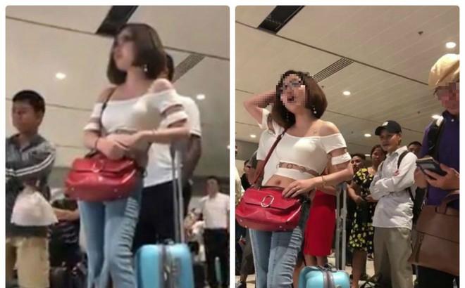 """Cô gái đứng giữa sân bay than """"bố chết không được về chịu tang"""" vì chậm chuyến"""