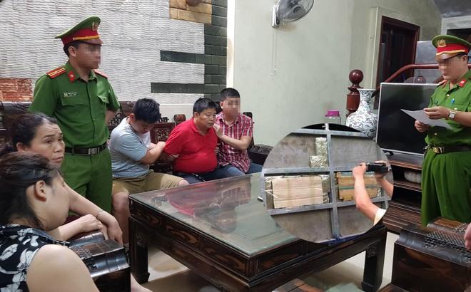 Số ma tuý chuyển cho đại gia Triệu Ký Voòng vừa bị bắt trị giá bao nhiêu tiền?