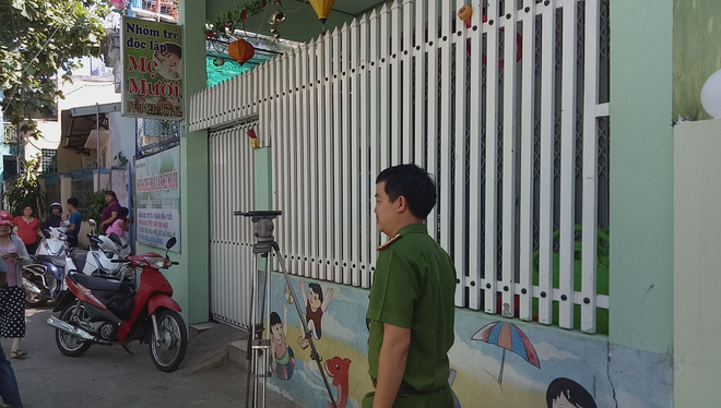 Bảo mẫu bạo hành trẻ ở Đà Nẵng chính là chủ cơ sở mầm non - Ảnh 3.