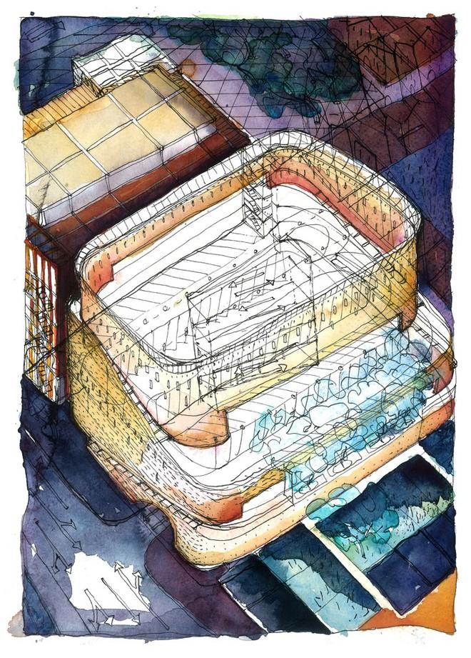 Tạp chí Mỹ ngợi ca bãi đỗ xe như một kiệt tác kiến trúc trong lòng thành phố - Ảnh 2.