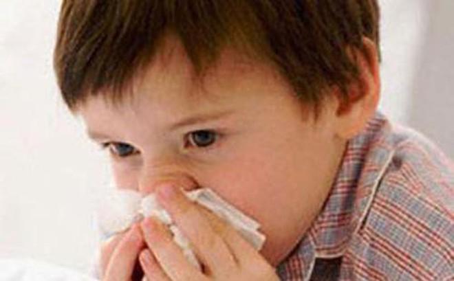 Bài thuốc chữa chảy máu cam ở trẻ em