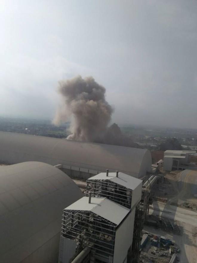 Nổ như bom tại Nhà máy xi măng Xuân Thành - Ảnh 1.