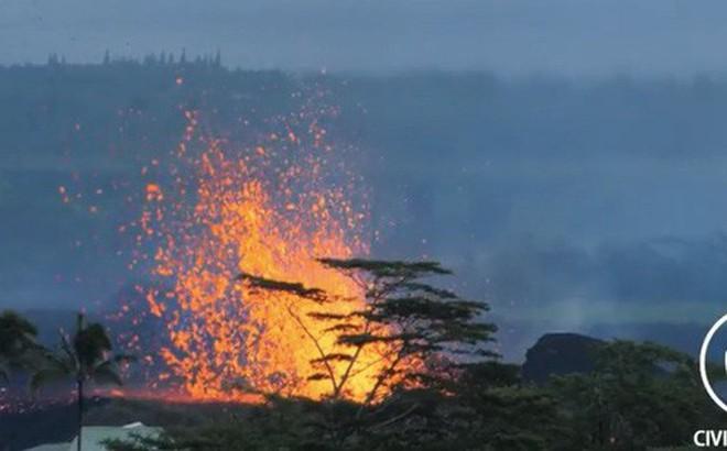 Xem ngay: Núi lửa đang phun dữ dội tại Hawaii, và bạn sẽ hiểu thiên nhiên kinh khủng đến thế nào