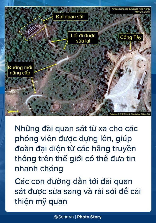 [PHOTO STORY] Bãi thử nghiệm hạt nhân Punggye-ri thay đổi chóng mặt trước giờ G - Ảnh 3.
