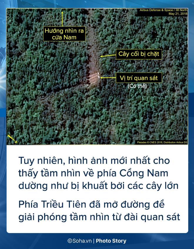 [PHOTO STORY] Bãi thử nghiệm hạt nhân Punggye-ri thay đổi chóng mặt trước giờ G - Ảnh 5.
