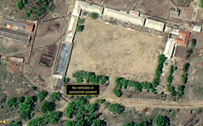 Nổ lớn khi Triều Tiên phá hủy bãi thử hạt nhân Punggye-ri