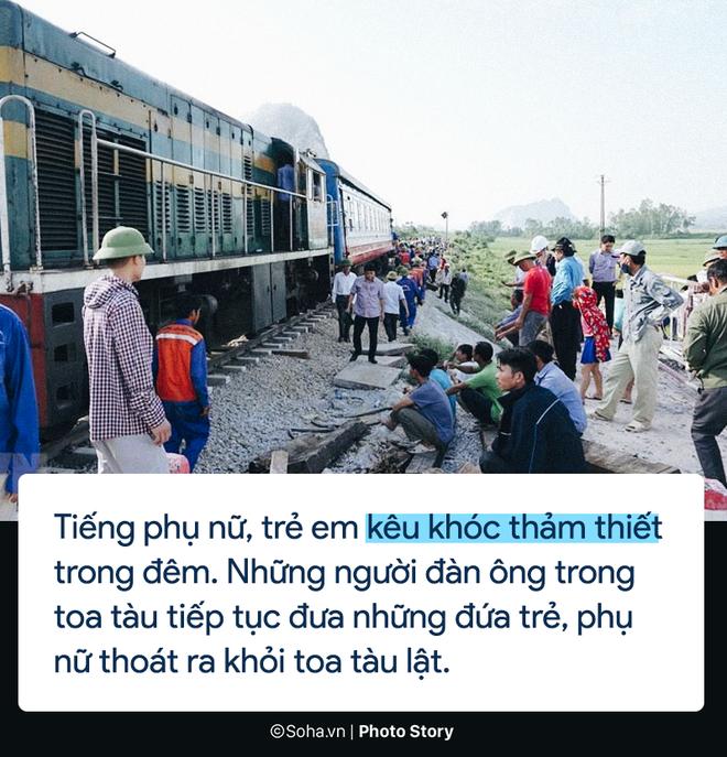 [PHOTO STORY] Chuyện cảm động trên chuyến tàu hoạn nạn: Khách Tây làm bậc thang giúp khách Việt thoát khỏi toa tàu lật - Ảnh 3.