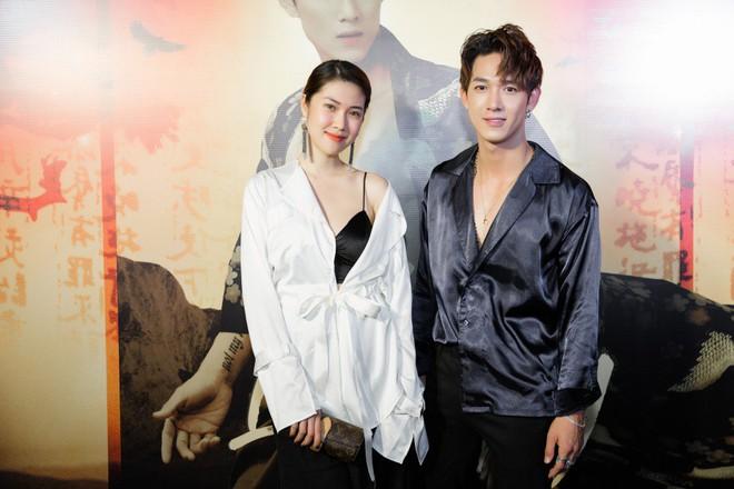 Siêu mẫu Thu Hằng mặc gợi cảm đến chúc mừng bạn trai tin đồn - Ảnh 6.