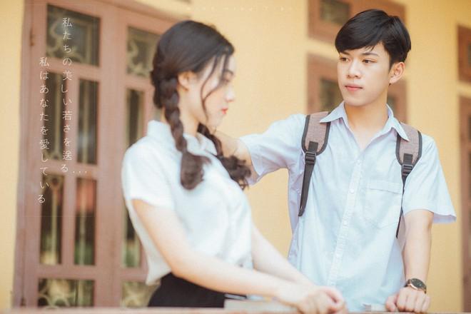 Bộ ảnh dắt em qua thanh xuân của đôi bạn học sinh giỏi: 17 tuổi, em đến bên tôi như định mệnh - Ảnh 5.