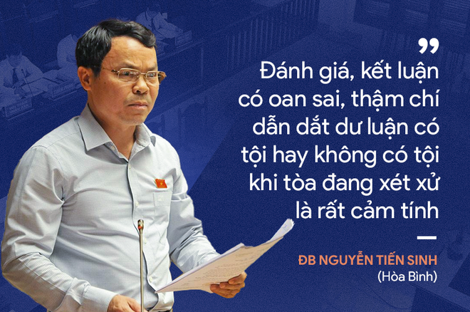 Ý kiến trái chiều của đại biểu Quốc hội về phiên xử bác sĩ Hoàng Công Lương - Ảnh 7.