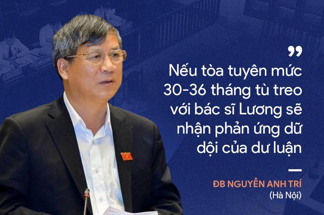 Ý kiến trái chiều của đại biểu Quốc hội về phiên xử bác sĩ Hoàng Công Lương - Ảnh 5.