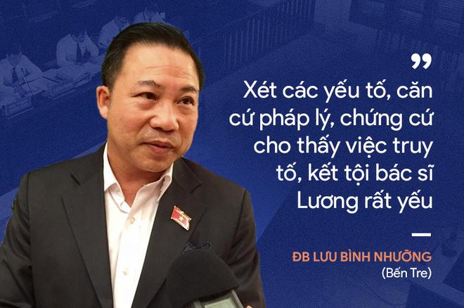 Ý kiến trái chiều của đại biểu Quốc hội về phiên xử bác sĩ Hoàng Công Lương - Ảnh 4.
