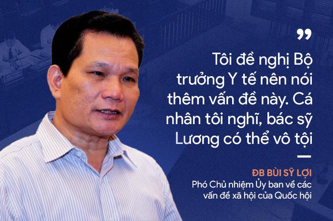 Ý kiến trái chiều của đại biểu Quốc hội về phiên xử bác sĩ Hoàng Công Lương - Ảnh 6.