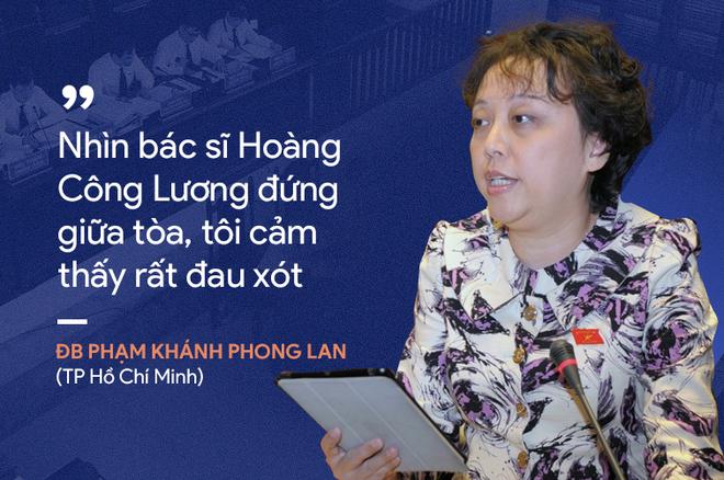 Ý kiến trái chiều của đại biểu Quốc hội về phiên xử bác sĩ Hoàng Công Lương - Ảnh 1.
