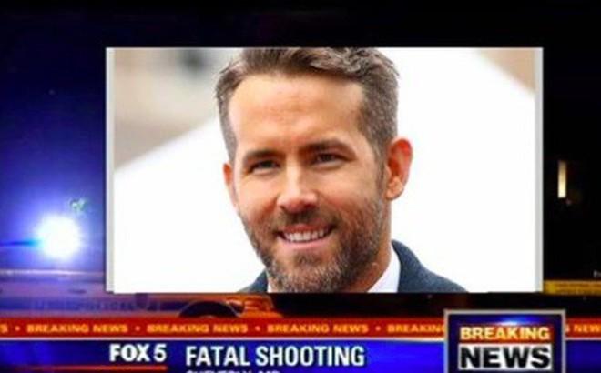 """Sự thật về thông tin """"Deadpool"""" Ryan Reynolds bị bắn chết lan truyền rầm rộ trên mạng"""