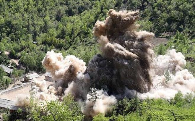 Quốc tế thấy gì từ việc Triều Tiên đóng bãi thử hạt nhân Punggye-ri