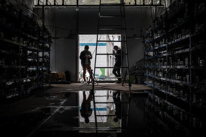 Bên trong một mỏ đào bitcoin bí mật tại Trung Quốc: Có 550 siêu máy tính, chạy 24 giờ một ngày - Ảnh 8.