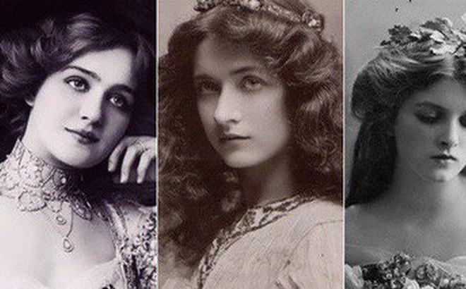 Chùm ảnh: Những bức ảnh hiếm cho thấy từ hàng trăm năm trước nhan sắc phụ nữ đã đẹp đến nao lòng dù không có photoshop