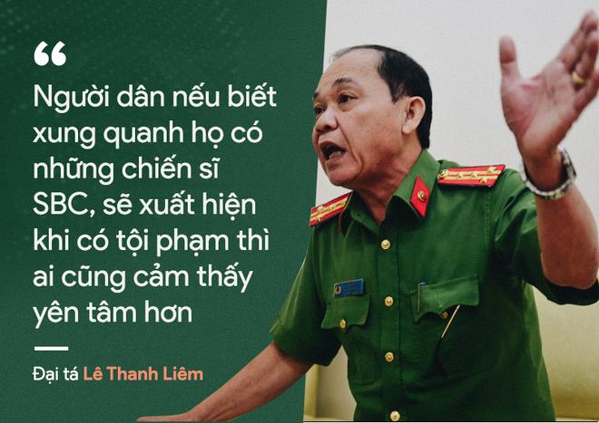 Cựu thành viên đội SBC Đại tá Hai Lửa: Nếu biết xung quanh có chiến sĩ SBC, người dân rất yên tâm - Ảnh 1.