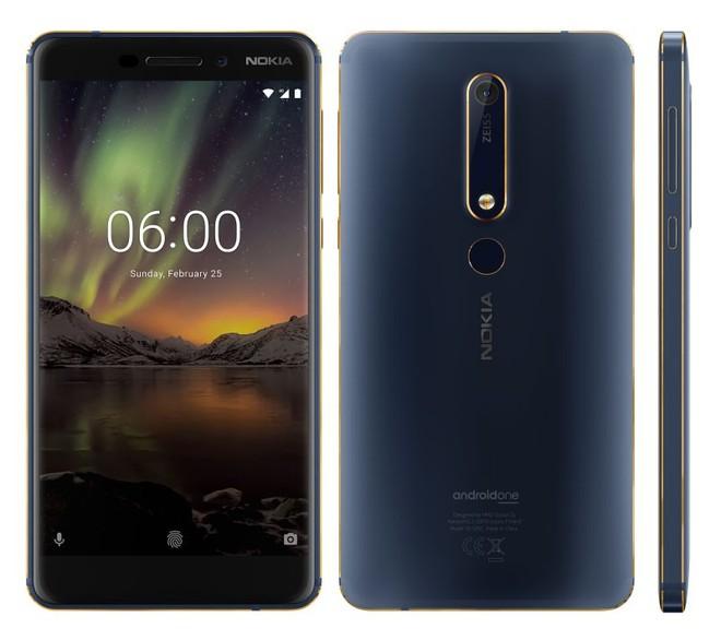 Nokia 6 mới ra mắt phiên bản Blue Gold đẹp khó cưỡng - Ảnh 2.