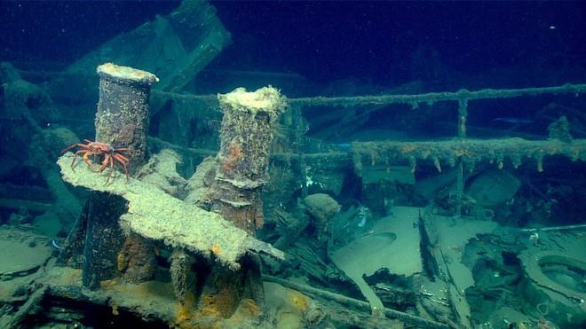 """Phát hiện """"nghĩa địa của những con tàu chìm ở vùng biển sâu nhất vịnh Mexico - Ảnh 4."""