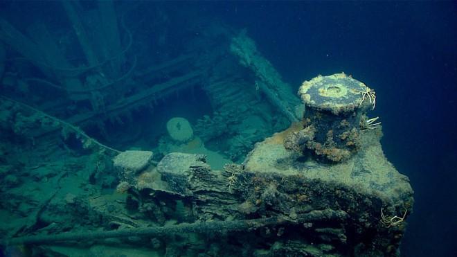 """Phát hiện """"nghĩa địa của những con tàu chìm ở vùng biển sâu nhất vịnh Mexico - Ảnh 2."""